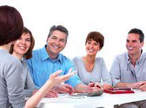 kolegovia, spoluvlastníci, skupina, tím, diskusia