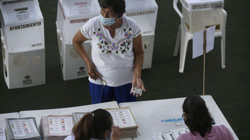 Mexiko / Voľby /