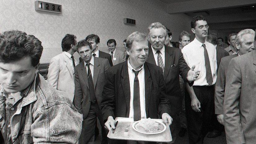 Václav Havel, ZŤS Martin, návšteva