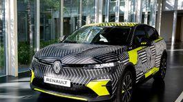 Renault Mégane E-Tech Electric - prototypy 2021