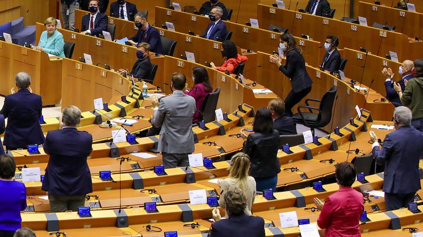 Belgicko EÚ EP Nemecko koronavírus oživenie...