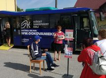 očkovanie koronavírus autobus