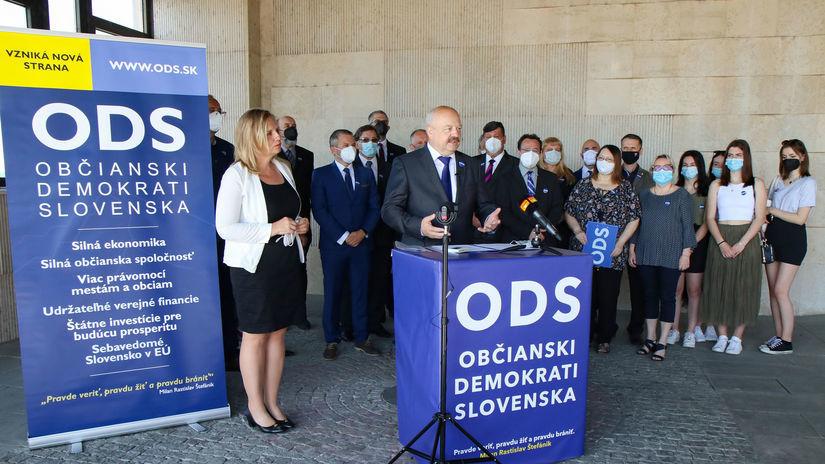 ODS Pavel Macko Občianski demokrati Slovenska