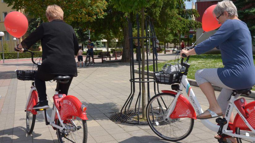svidník, bicykle, zdieľané bicykle