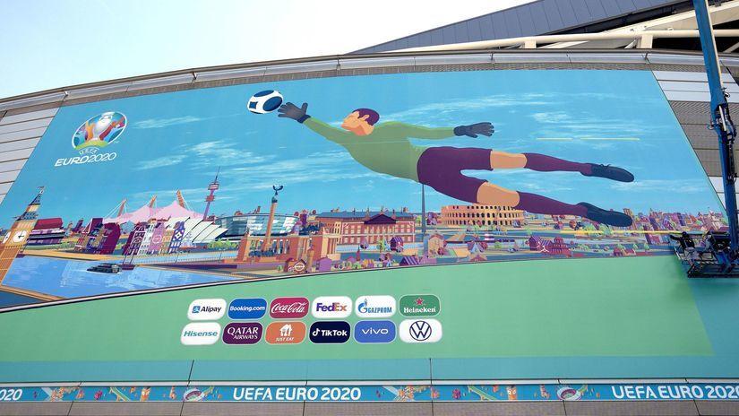 Euro, futbal