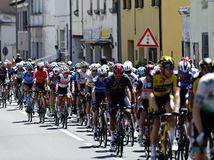 Taliansko Cyklistika Giro 13. Etapa, ilustračná