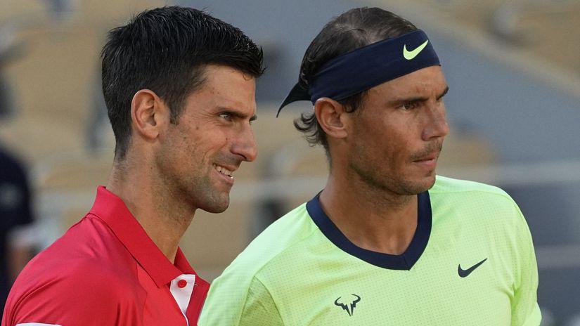Francúzsko Tenis Roland Garros muži 1/2 Djokovič