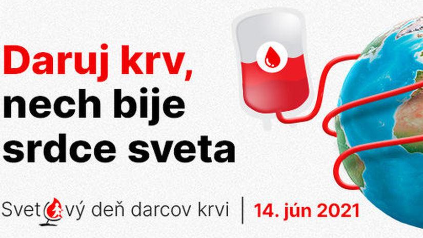 krv, darovanie krvi, 14. jún