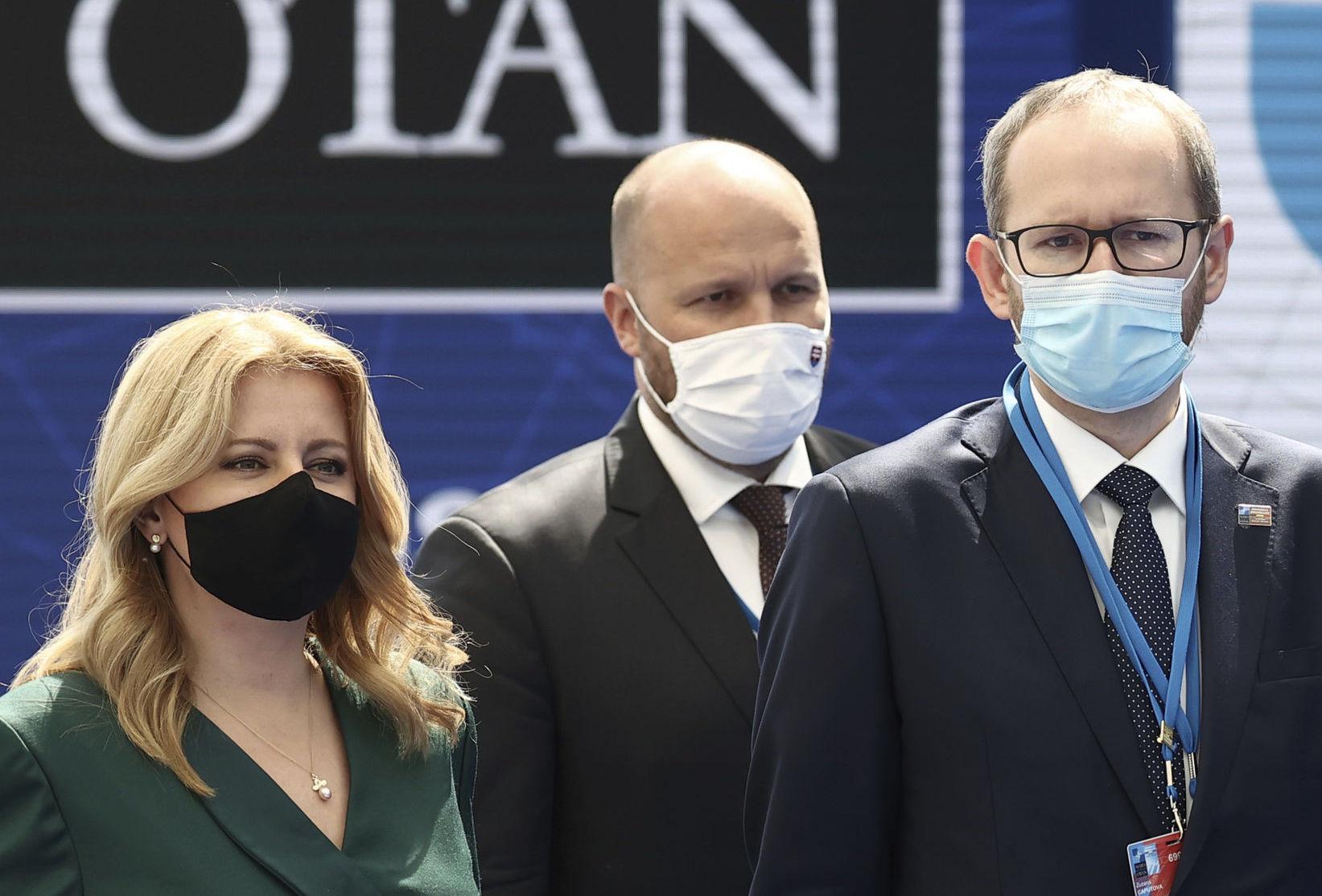 Brusel NATO Summit čaputová naď