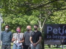 petícia, bezpečnosť, chodci, cyklisti