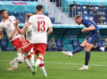 Rusko SR futbal ME2020 E Poľsko Slovensko škriniar