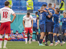 Rusko SR futbal ME2020 E Poľsko Slovensko