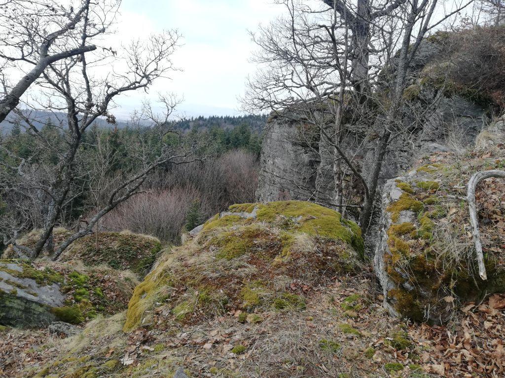 skaly Kopa Podpoľanie