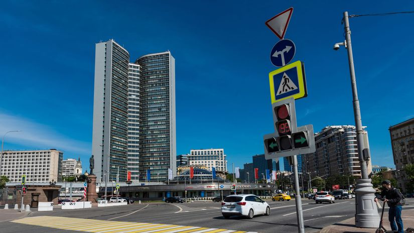 Moskva, RVHP, architektúra