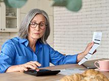 dôchodkyňa, počítanie, pracujúci penzisti