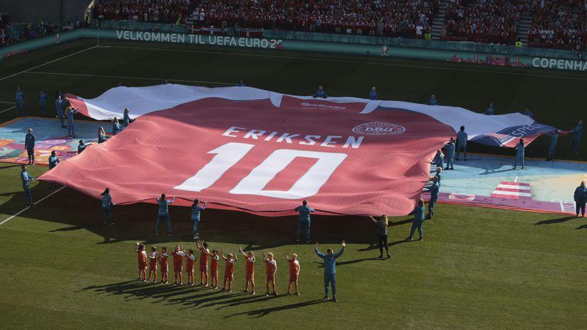 Dánsko futbal ME2020 B Belgicko
