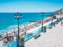 Krym, letovisko