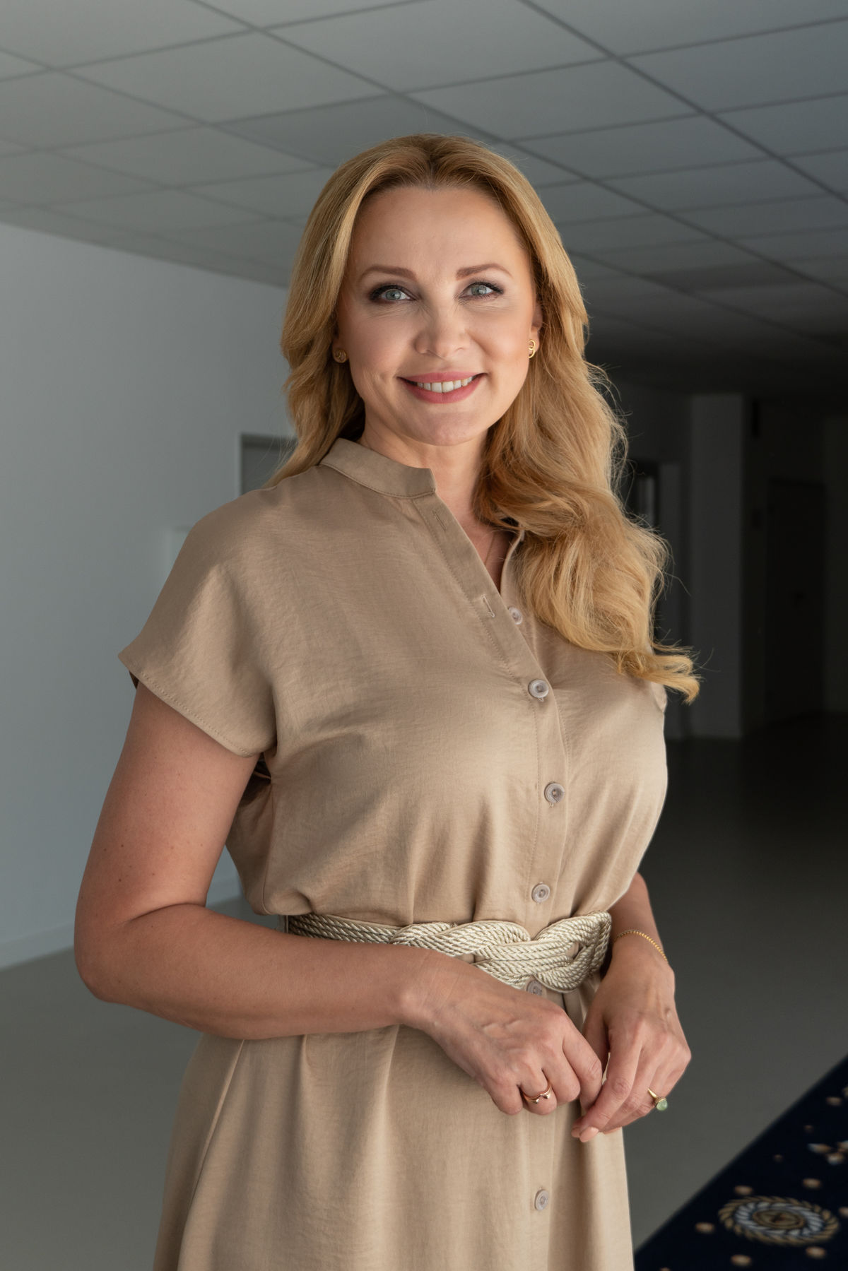 Moderátorka Janette Štefánková.