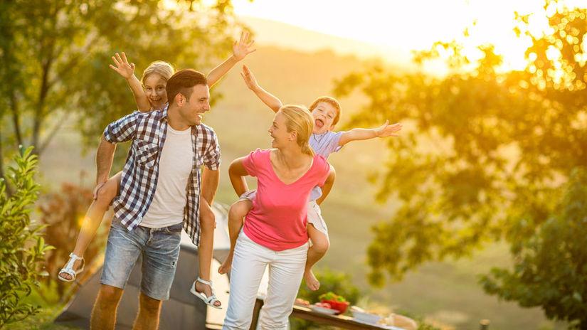 rodina, dovolenka, cestovanie, zábava