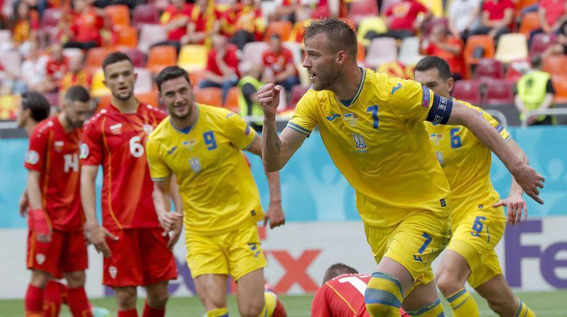Rumunsko futbal ME2020 C Ukrajina Severné...