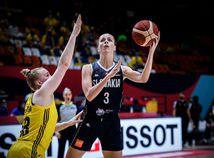 Španielsko Basketbal ME ženy A Švédsko SR