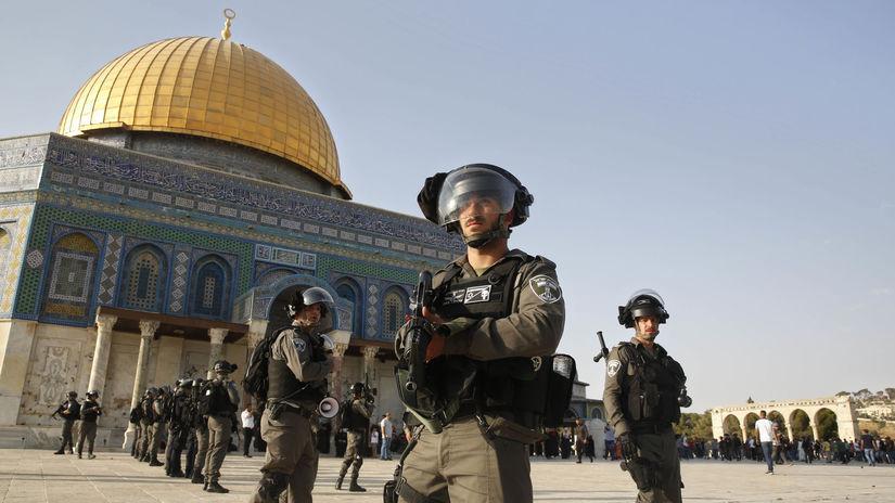 Izrael / Palestínčania / Chrámová hora / Al-Aksá /