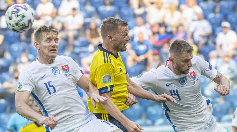Rusko SR Slovensko Švédsko futbal ME2020 E