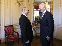Švajčiarsko Ženeva Biden Putin summit