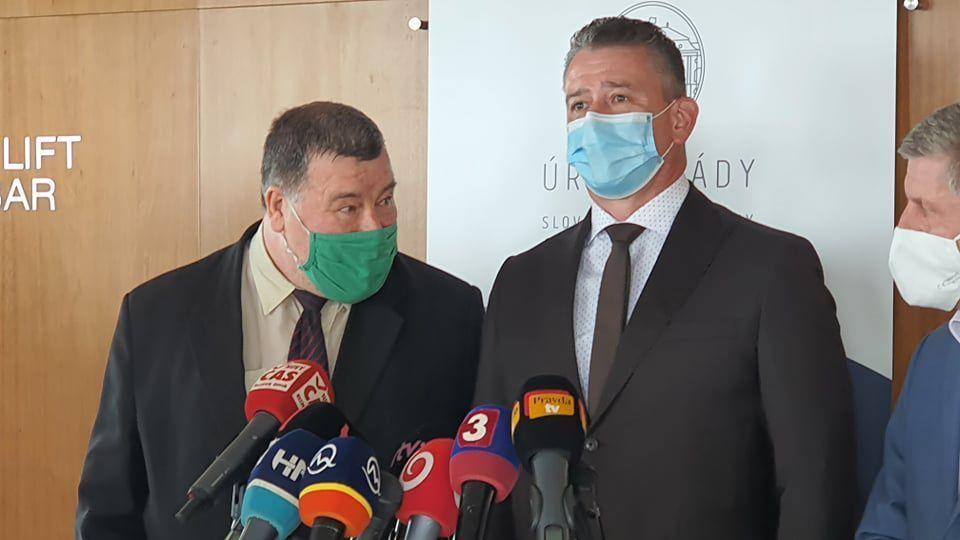 Vladimír Krčméry, Roman Mikulec, Vladimír...