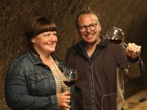 David Papillon, Darina Geciová, víno