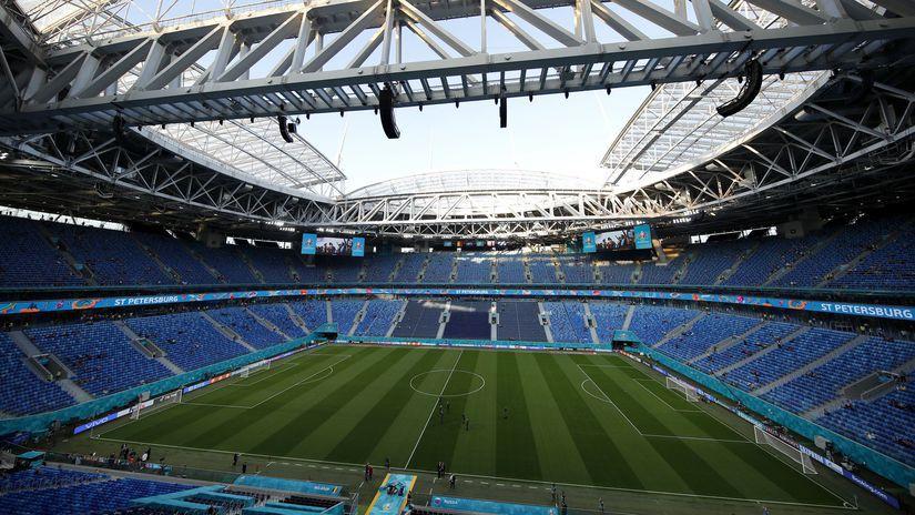 štadión v Petrohrade
