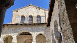 Eufráziova bazilika v Poreči na Istrii.