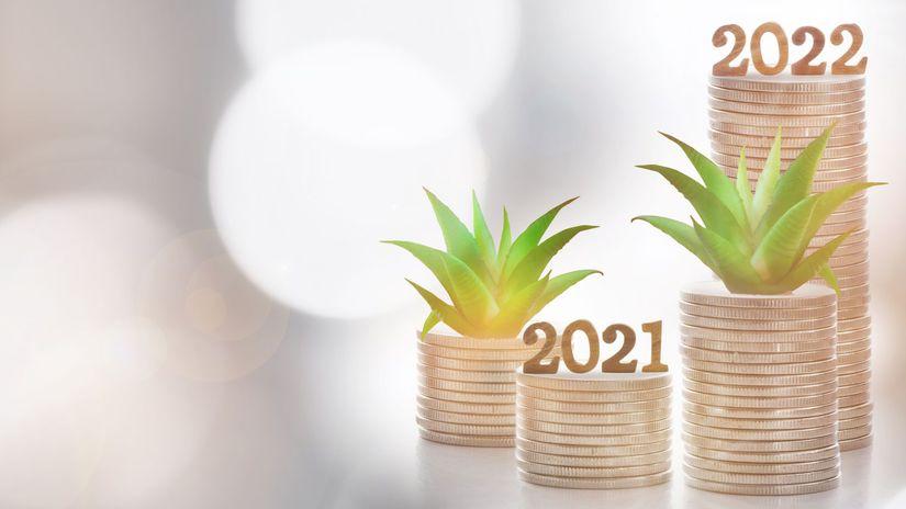 2021, 2022, roky, rast, progres