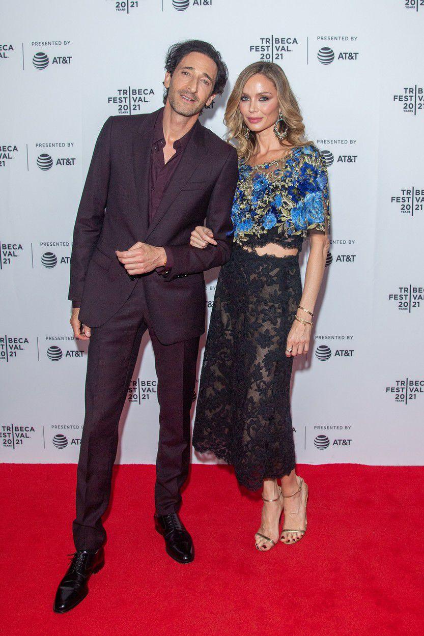 Adrien Brody a Georgina Chapman