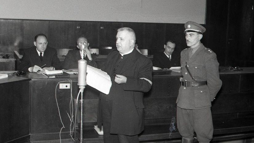 Joztef Tiso, Národný súd