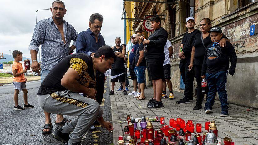 česko polícia zákrok zásah róm úmrtie teplice