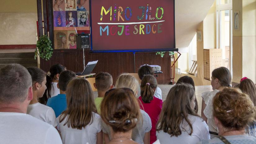 MIRO JILO, animovaný film, Moje srdce, Dávid...