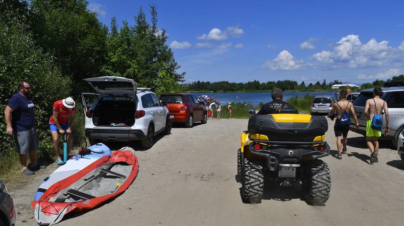 Vysoké Tatry kúpanie leto jazero