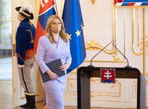 prezidentka Zuzana Čaputová, vyhlásenie