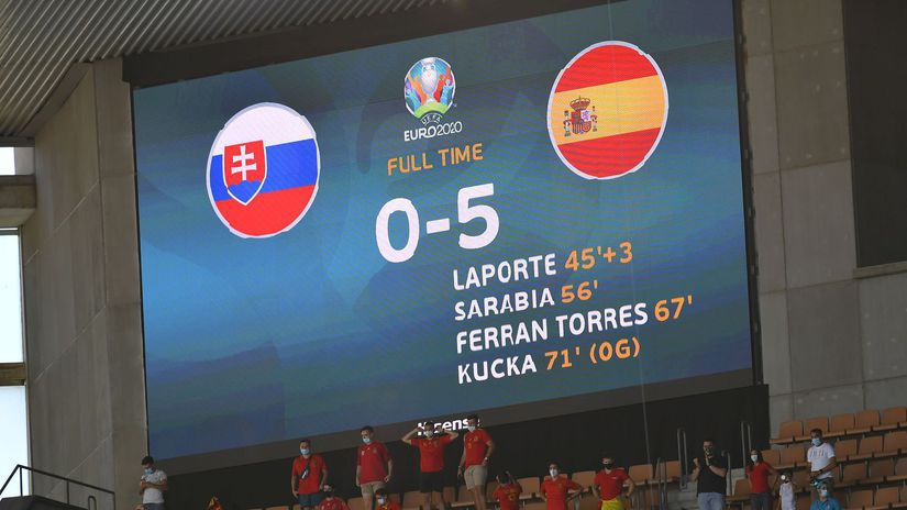 Španielsko SR futbal ME2020 E Skupina