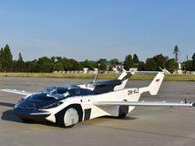 AirCar - pristátie v Bratislave 2021