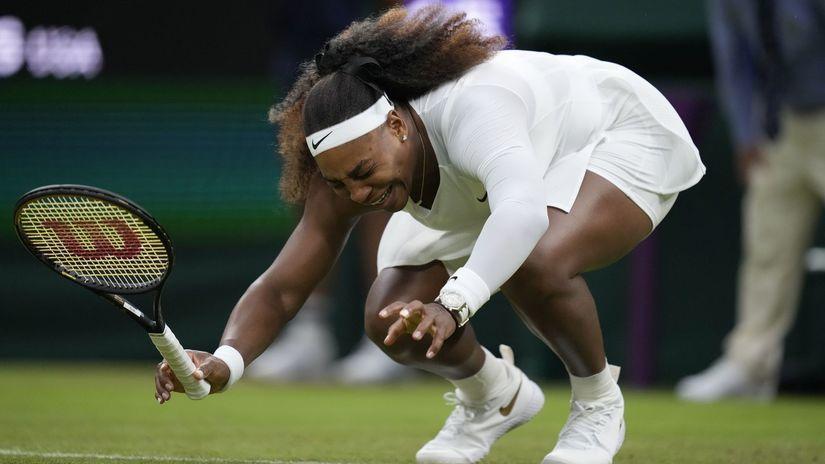 Británia šport Tenis Wimbledon ženy dvojhra 1.kolo