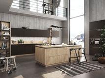 betón, kuchyňa