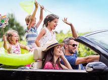 rodina, dovolenka, leto, prázdniny, radosť, cestovanie