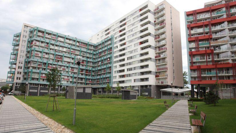 koloseo,byty,stavba