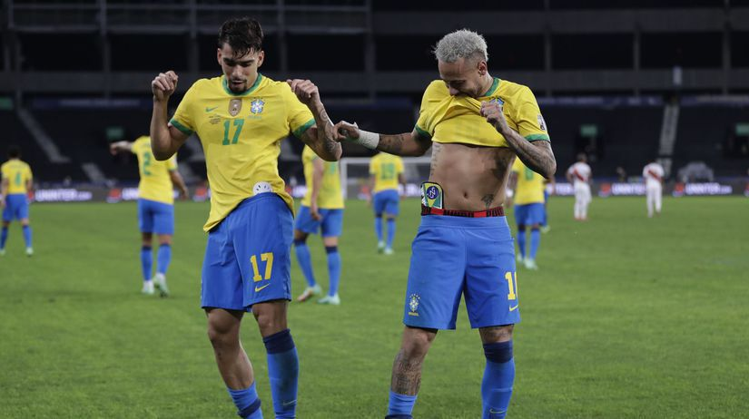 Lucas Paqueta, Neymar