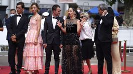 France Cannes 2021 Ahed's Knee Red Carpet