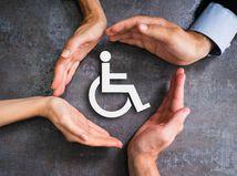 ŤZP, invalidný vozík, ruky, kruh, ochrana