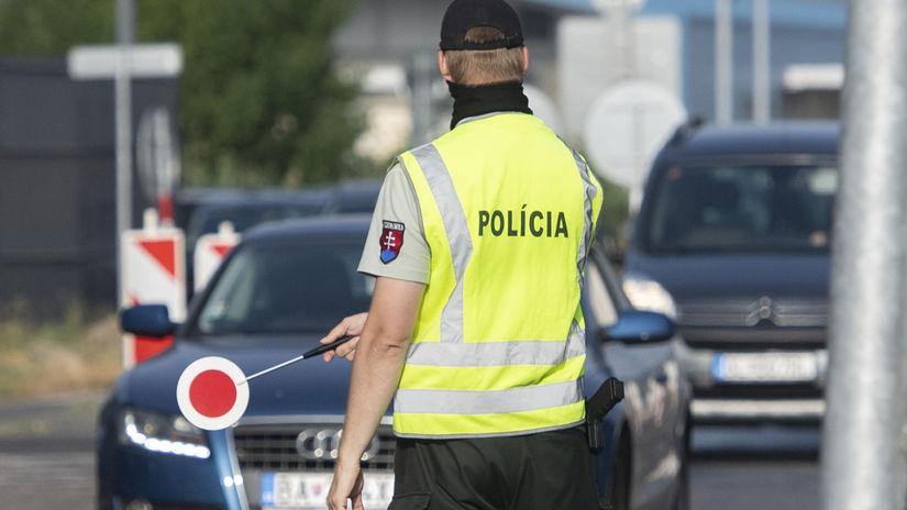 Rakúsko koronavírus hranica polícia kontroly