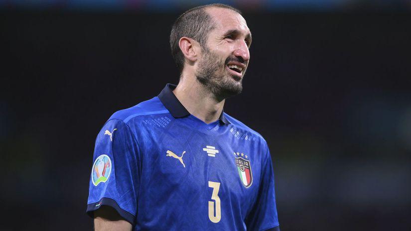 Britain Italy Spain Euro 2020 Soccer chiellini